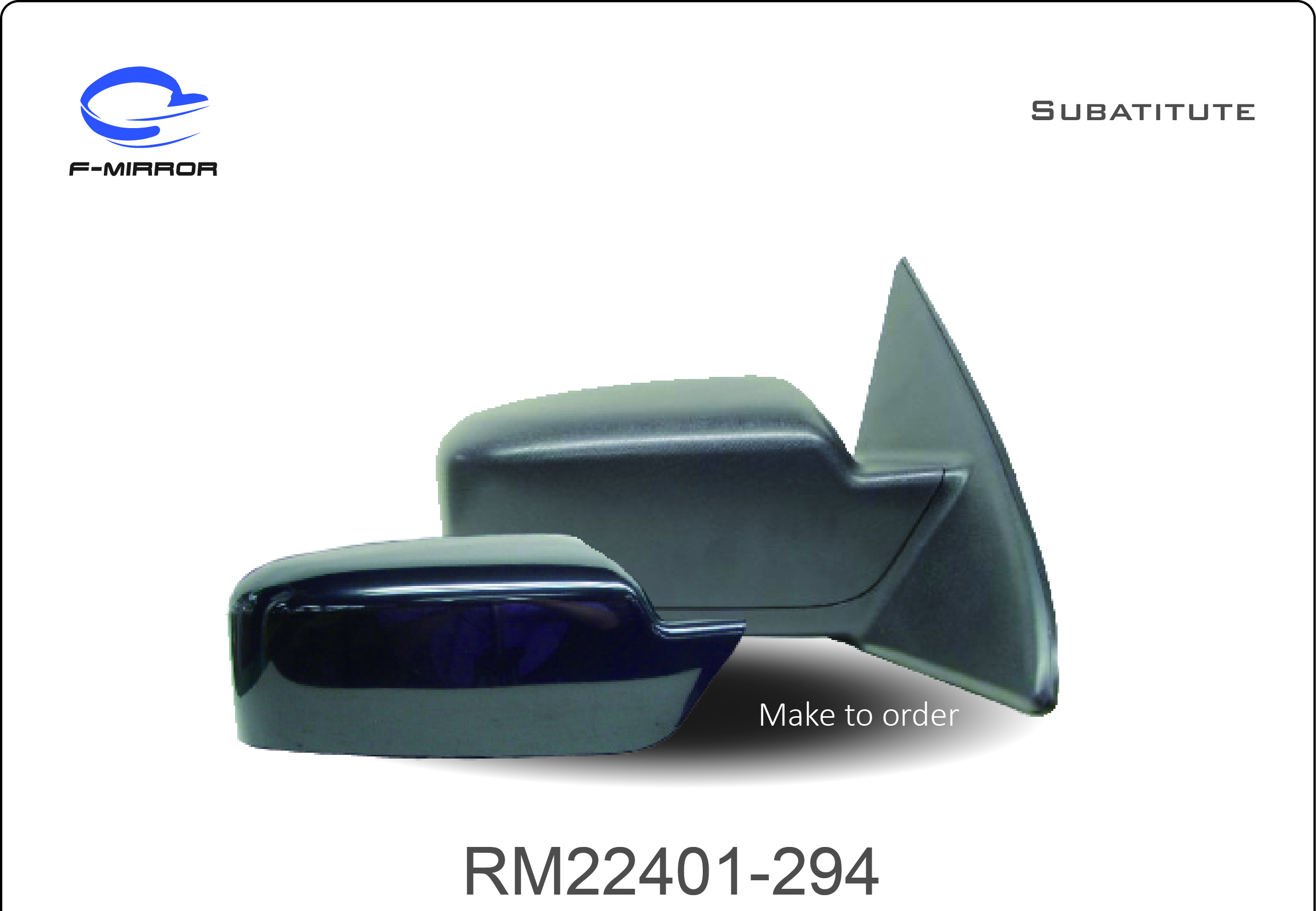 FORD FUSION DOOR MIRROR