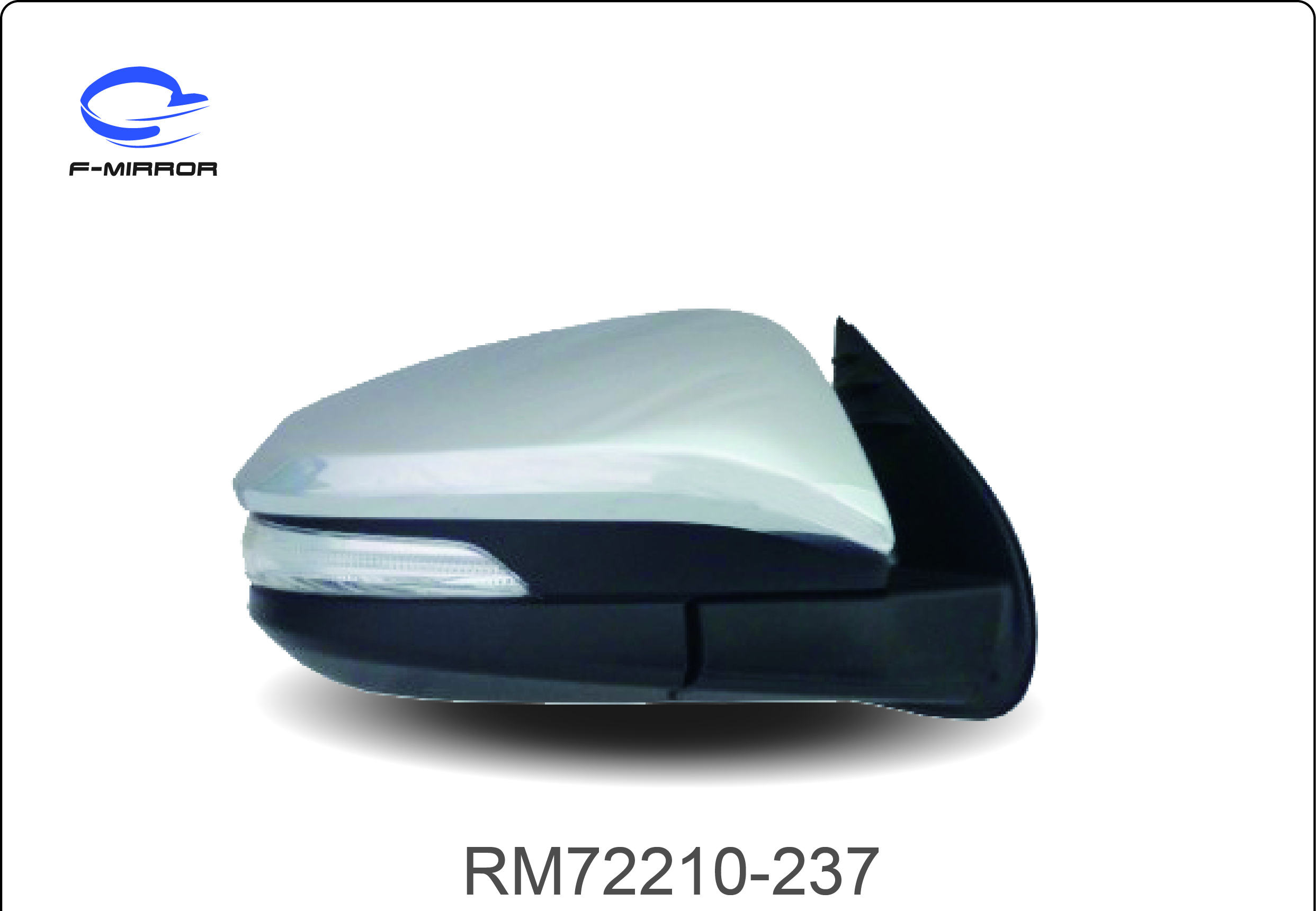 TOYOTA 200 SERIES HILUX REVO DOOR MIRROR