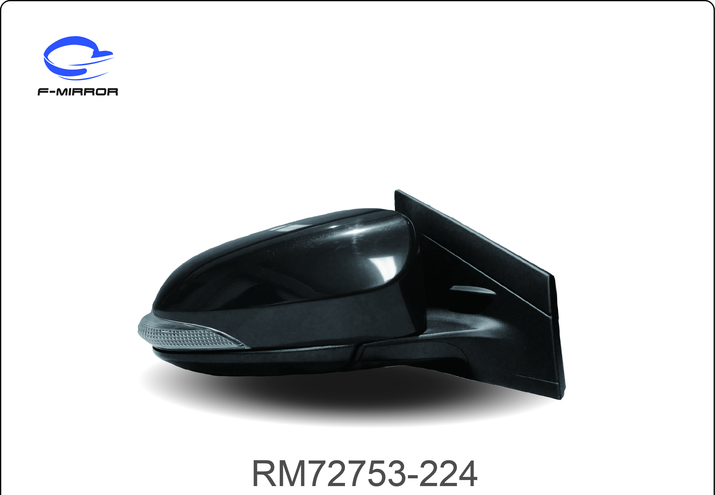 TOYOTA 4D YARIS/4D DOOR MIRROR
