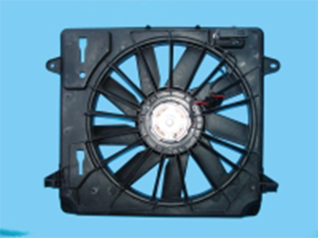 M. BENZ C-CLASS  W204 COOLING FAN ASSEMBLY